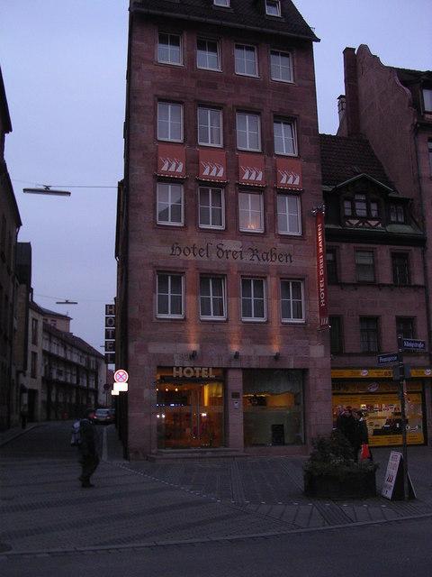 Hotel Drei Raben, Konigstrasse, Nurnberg