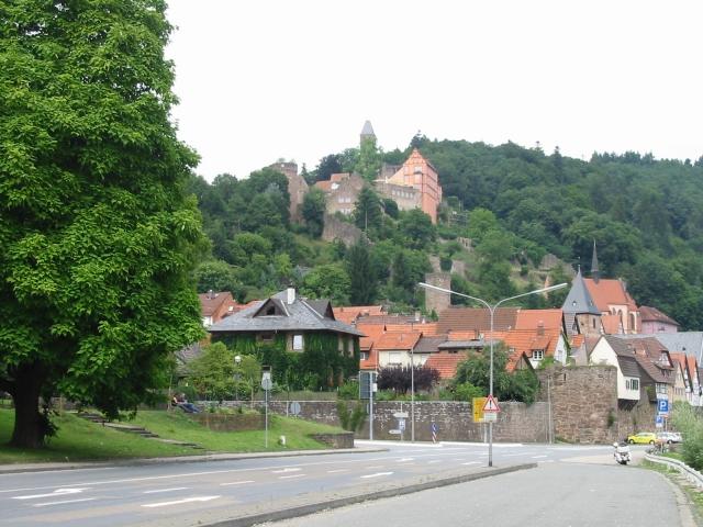 Hirschhorn Schloss und Stadt