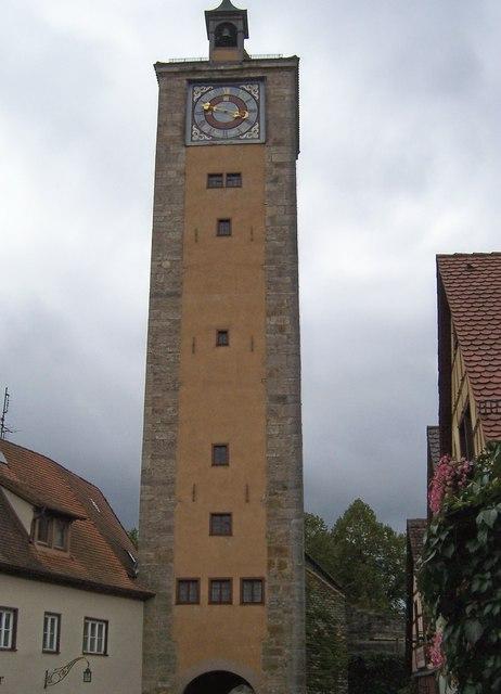 Burgtor - Rothenburg ob der tauber