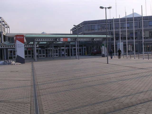 Main Entrance, Messe Centrum, Nurnberg