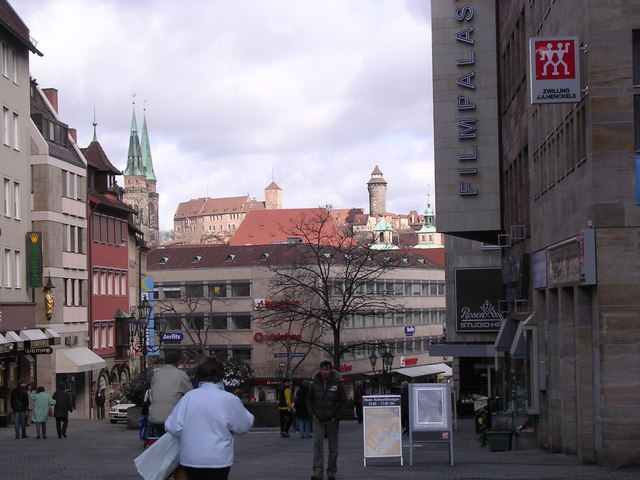 Konigstrasse, Nurnberg.