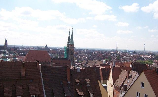 Roof tops - Coburg