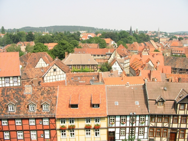 Quedlinburg Dächer