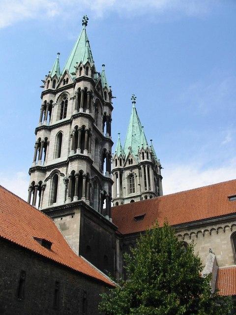Die Türme des Naumburger Doms