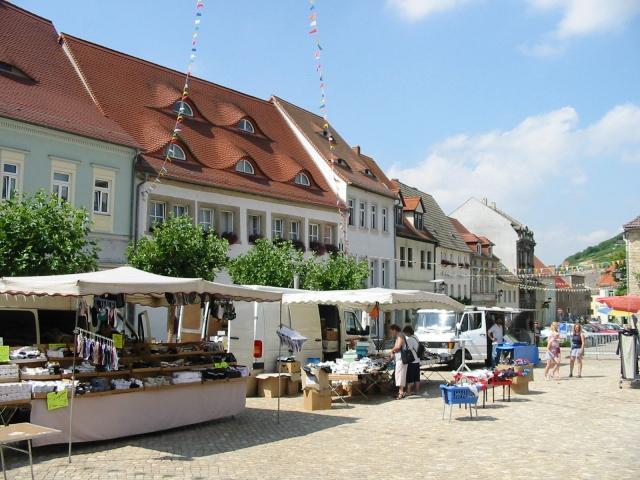 Freyburg Marktplatz