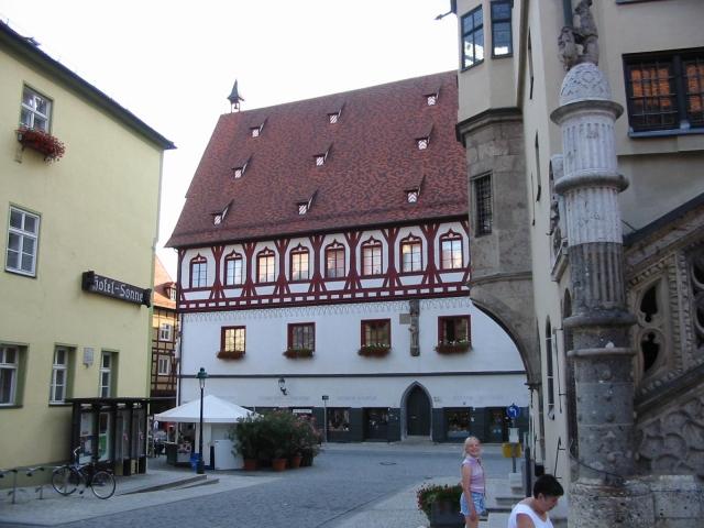 Hotel Sonne, Marktplatz, Nördlingen