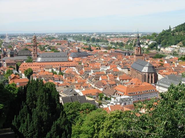 Heidelberg vom Schloss