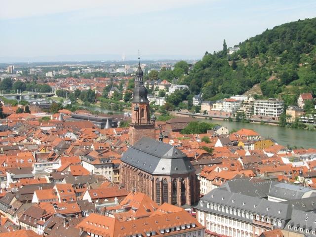 Heiliggeistkirche vom Schloss