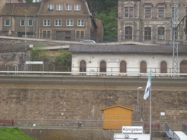 Railway Station, Konigstein