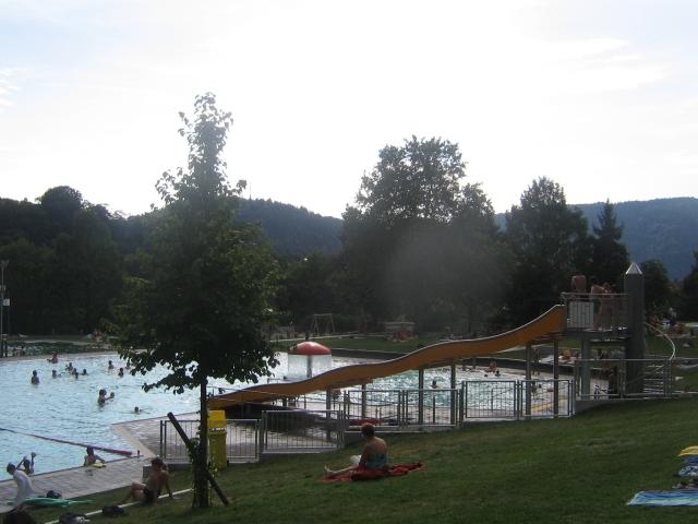 Terrassen-Freischwimmbad Neckargemünd