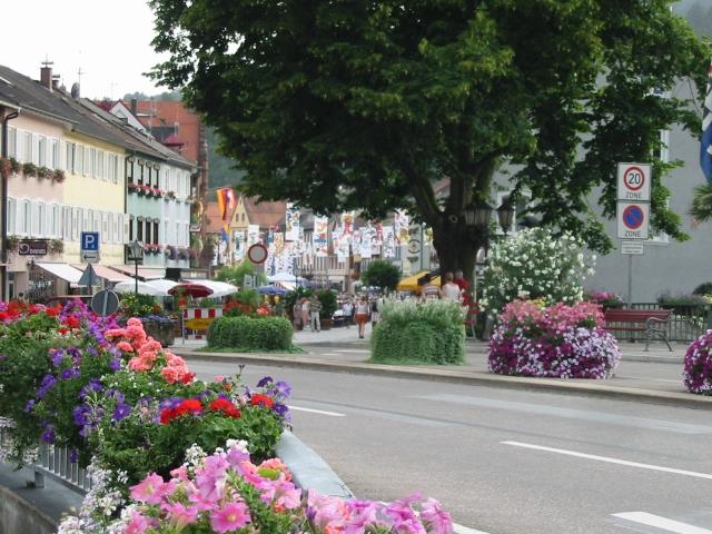 Hautpstraße geschlossen, Wolfach