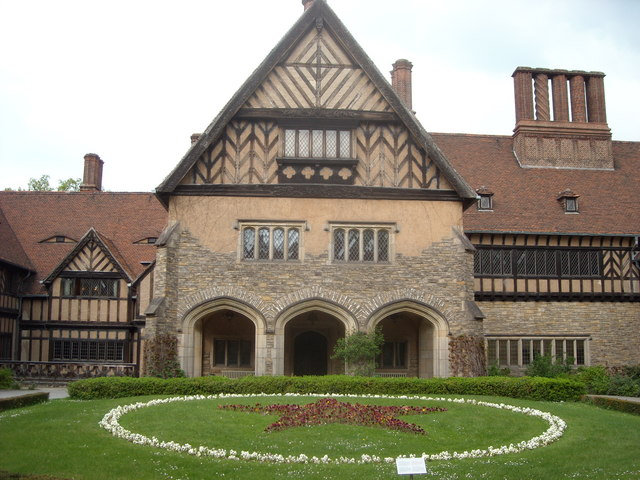 Courtyard of the Cecilienhof Palace, Potsdam