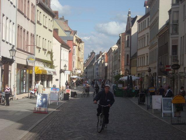 Collegienstraße, Wittenberg (College Street, Wittenberg)