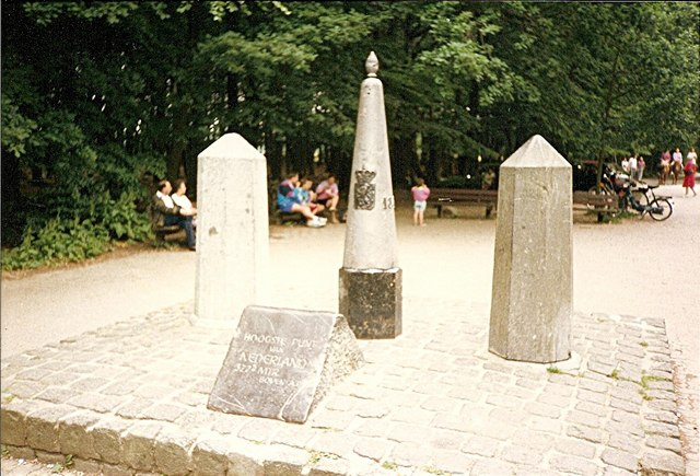 Beim Dreiländerpunkt bei Aachen: Höchster Punkt der Niederlande