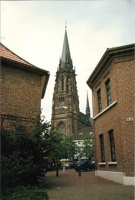 Stadtzentrum, Waldniel