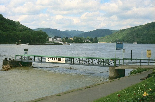 Landing stage, Kamp-Bornhofen