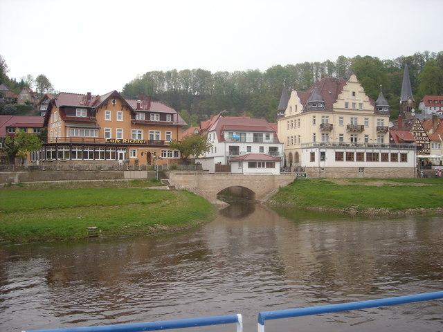 Strandhotel , Wehlen