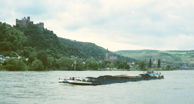 Oberwesel from the Rhein