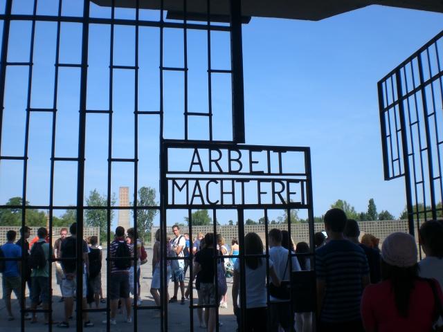 Eingangstor - Sachsenhausen
