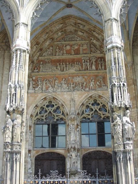 Eingang zur Ulm Kathedrale