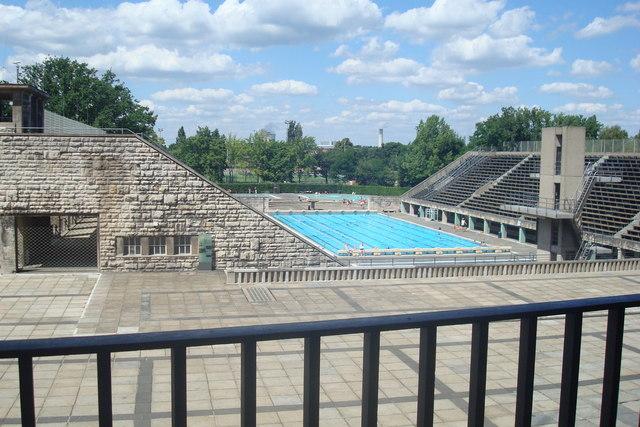 Das Olympische Schwimmbecken - Berlin