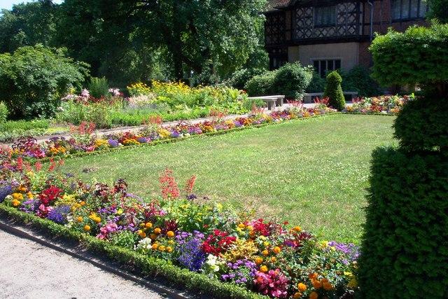 Garten - Schloss Cecilienhof