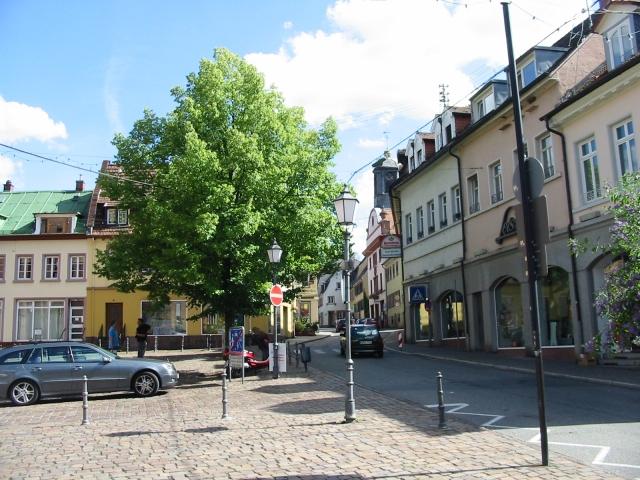 Hauptstraße, nahe dem Marktplatz, Neckargemünd