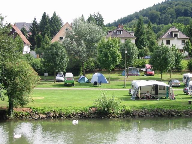 Campingplatz Friedensbrücke, Neckargemünd