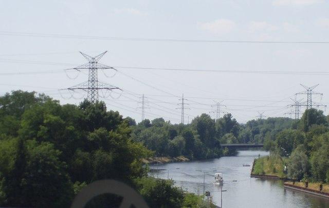 Ausblick von Rudolf-Wissell Brücke