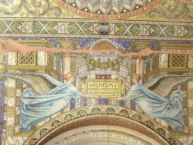 Mosaik in der Kaiser-Wilhelm-Gedaechtniskirche