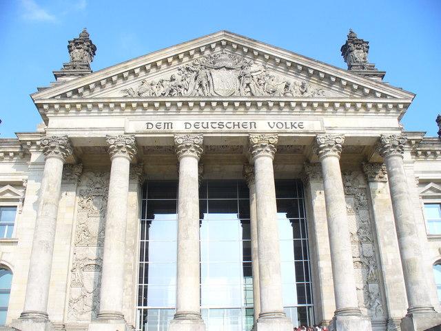 Reichstag Fassade