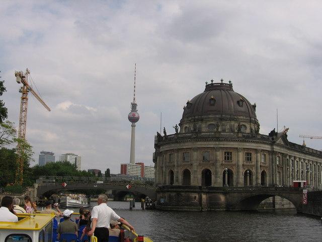 Bodemuseum und Fernsehturm