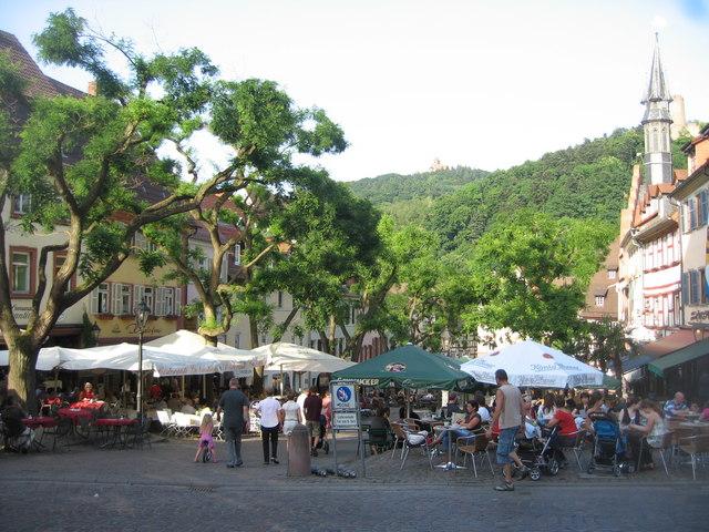 Marktplatz - Weinheim