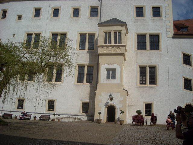 Doorway at Colditz Castle