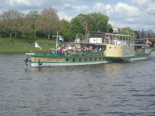 Paddle Boat, Dresden