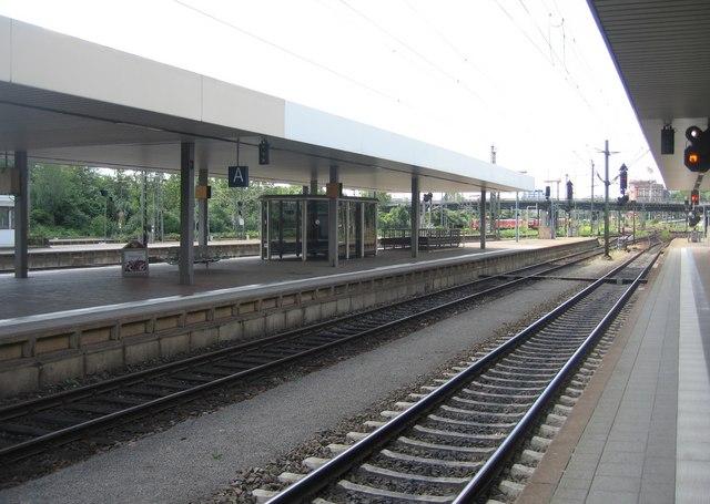Gleis 4 - Mannheim Hauptbahnhof