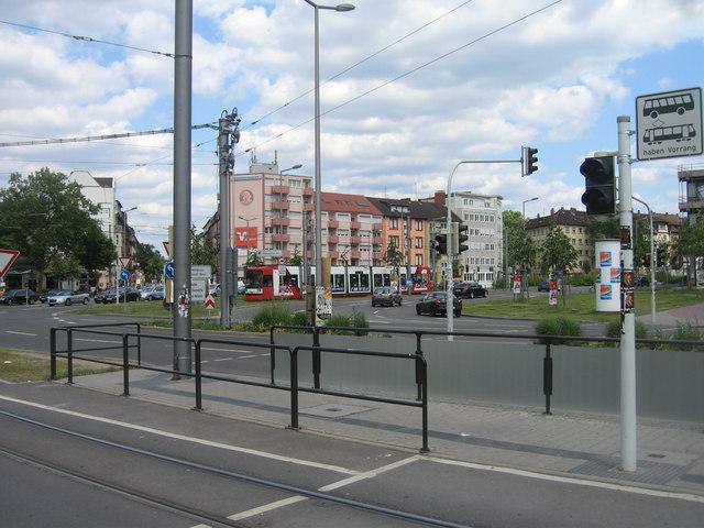 Lange Rötterstraße / Käfertalerstraße