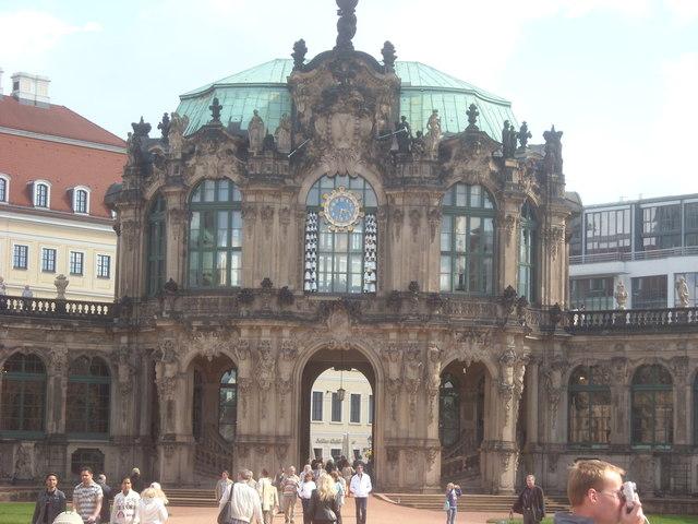 Glockenspielpavilon, Zwinger Palace, Dresden.