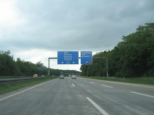 Rüsselsheim-Ost Exit