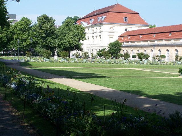 Schloss Charlottenburg - Garten