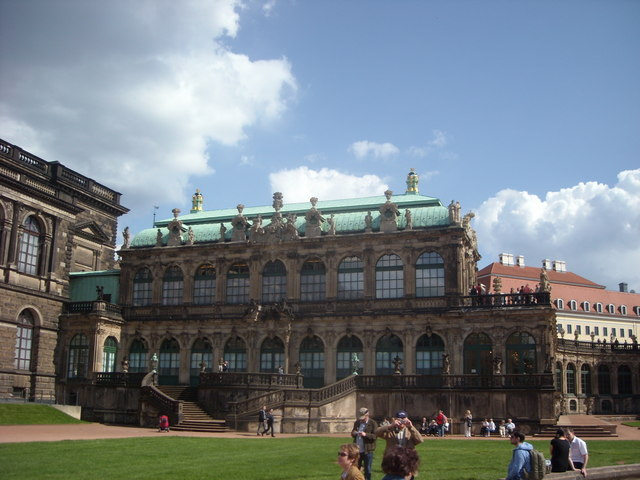 Zwinger Palace, Dresden.