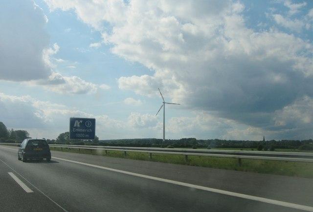 Emmerich - junction 3 - 1 km