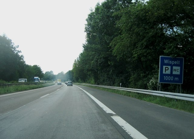Wispelt parkplatz - 1km