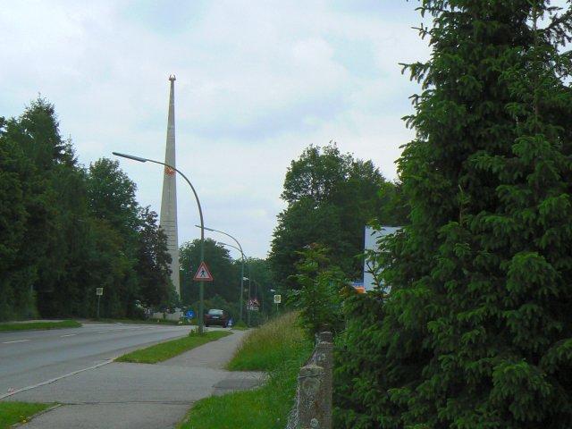 Spitzturm in Marktoberdorfer Straße