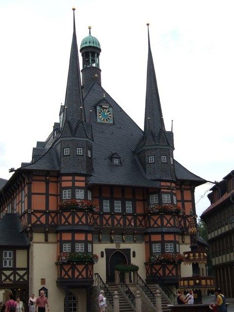 Rathaus von Wernigerode (Wernigerode Town Hall)