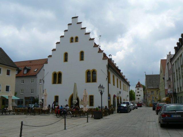 Ballenhaus in Marienplatz, Schongau