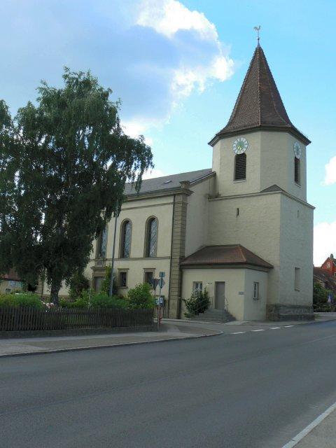 Pfarrkirche in Lehengütingen