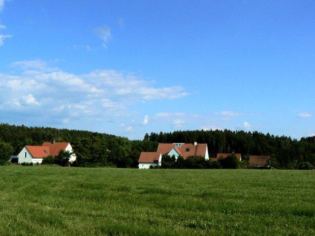 Häuser in Dickersbronn
