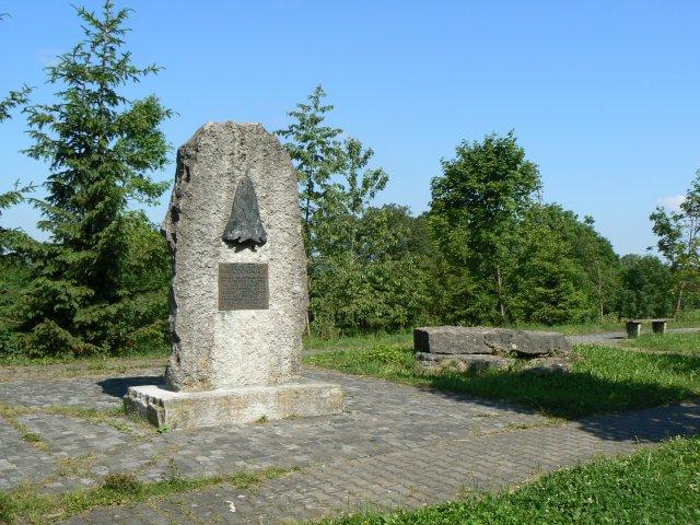 Denkmal für ein Mastadonsaurus