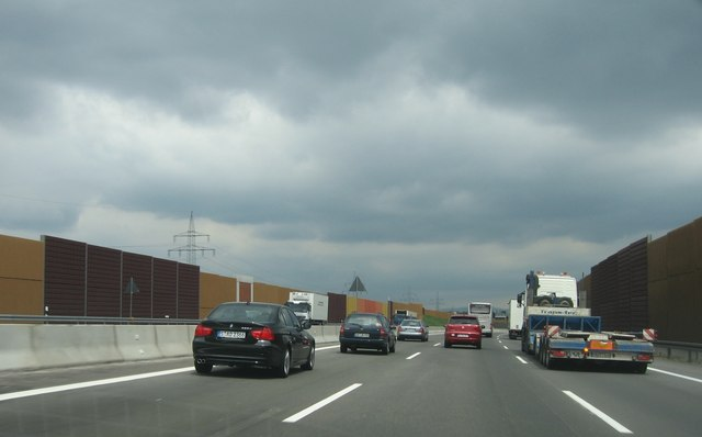 E50 - östlich von Feudenheim